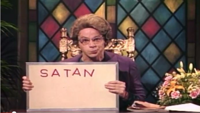 church lady satan